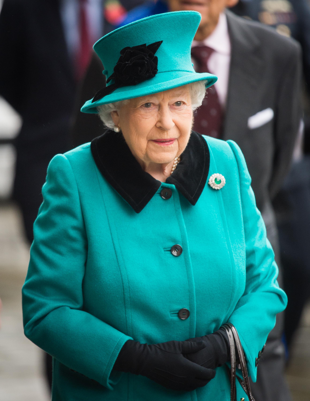Reina Isabel II Queen Elizabeth II