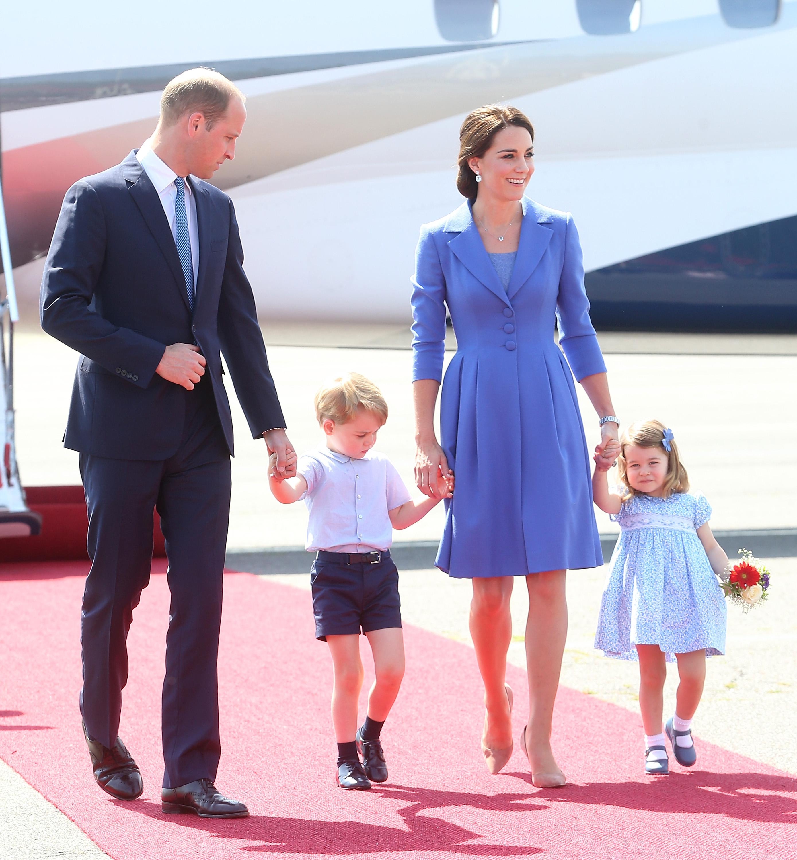Príncipe William, princesa Kate