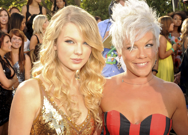 Taylor Swift y Pink