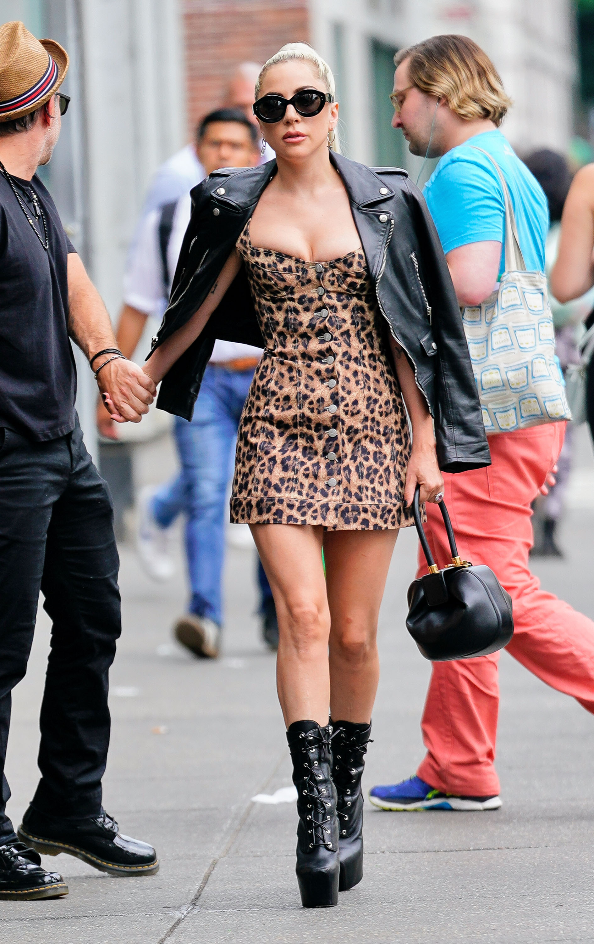 lady gaga, leopardo