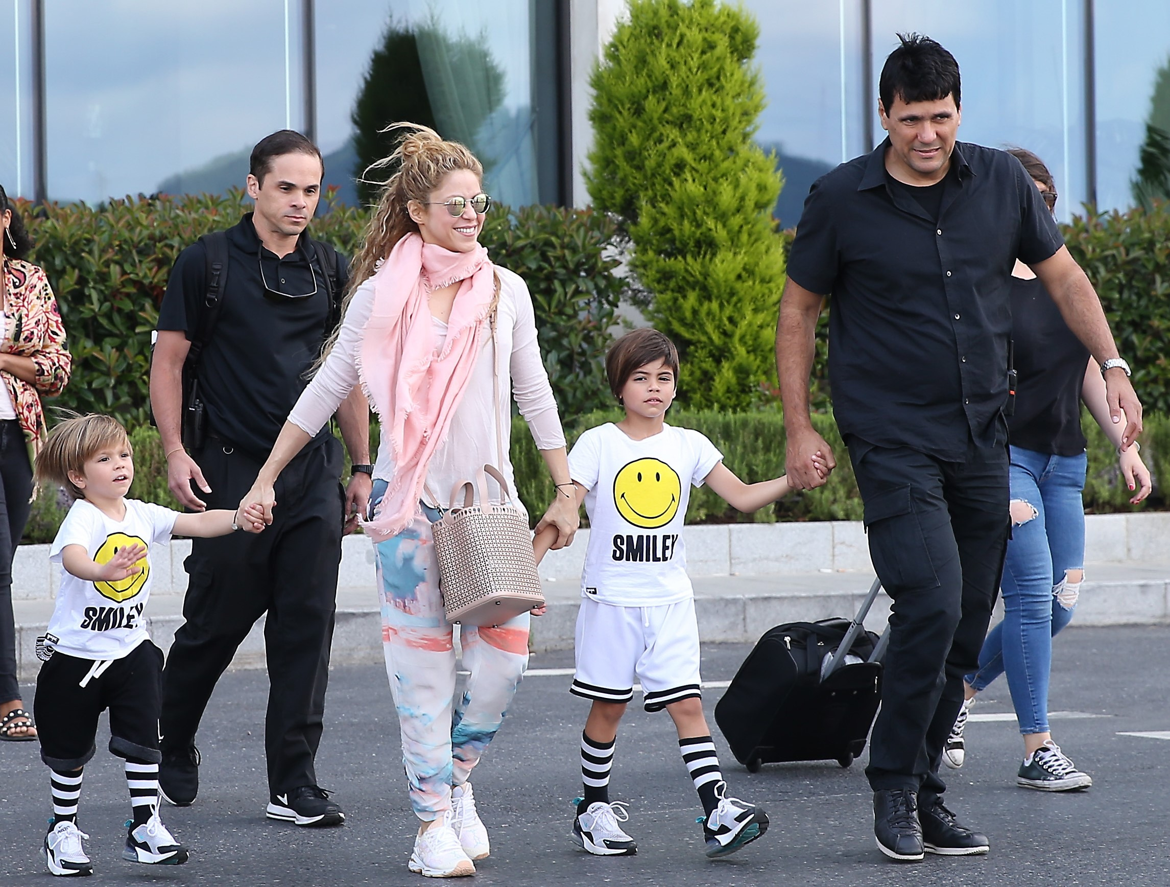 Shakira, Milan Piqué, Sasha Piqué