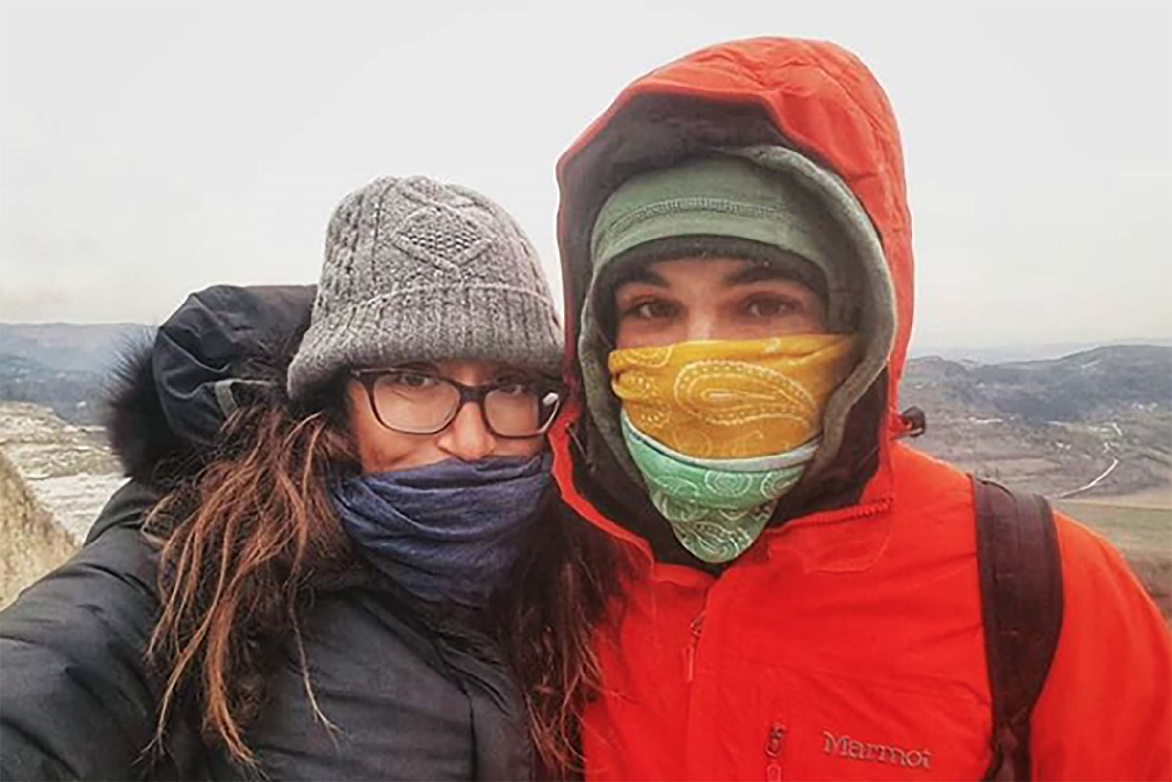 Lauren Geoghegan y Jay Austin