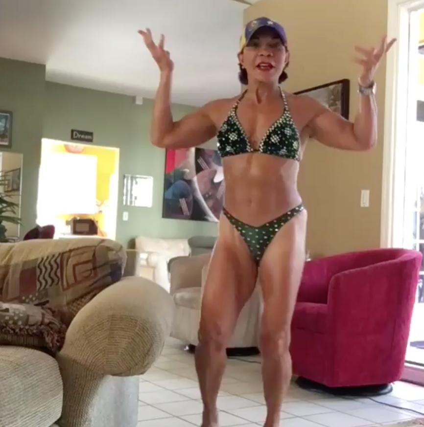 Josefina Monasterio abuela fitness11