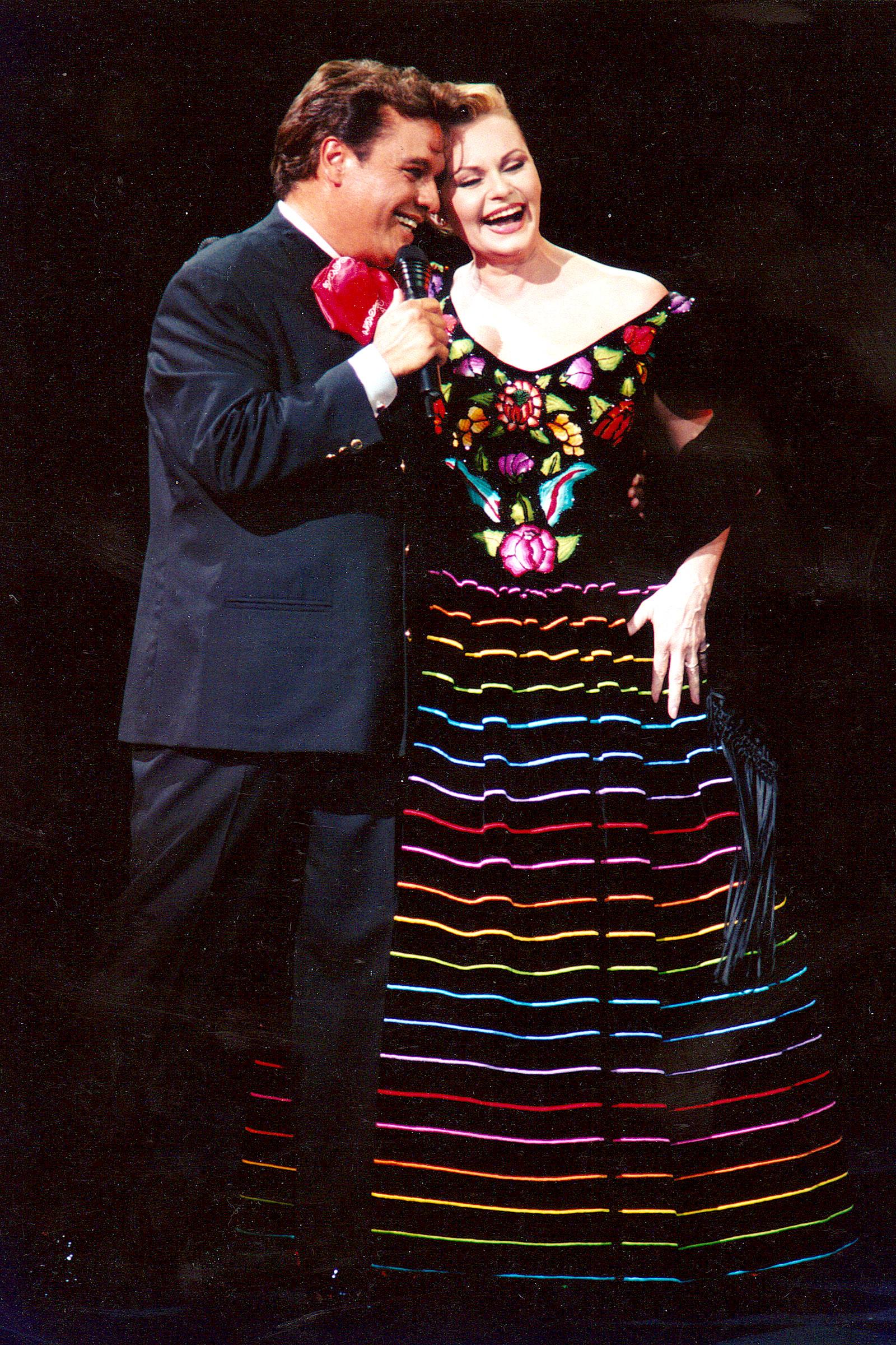 Juan Gabriel y Rocio Durcal