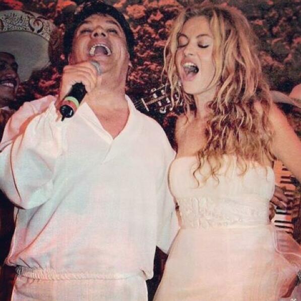 Juan Gabriel y Paulina Rubio