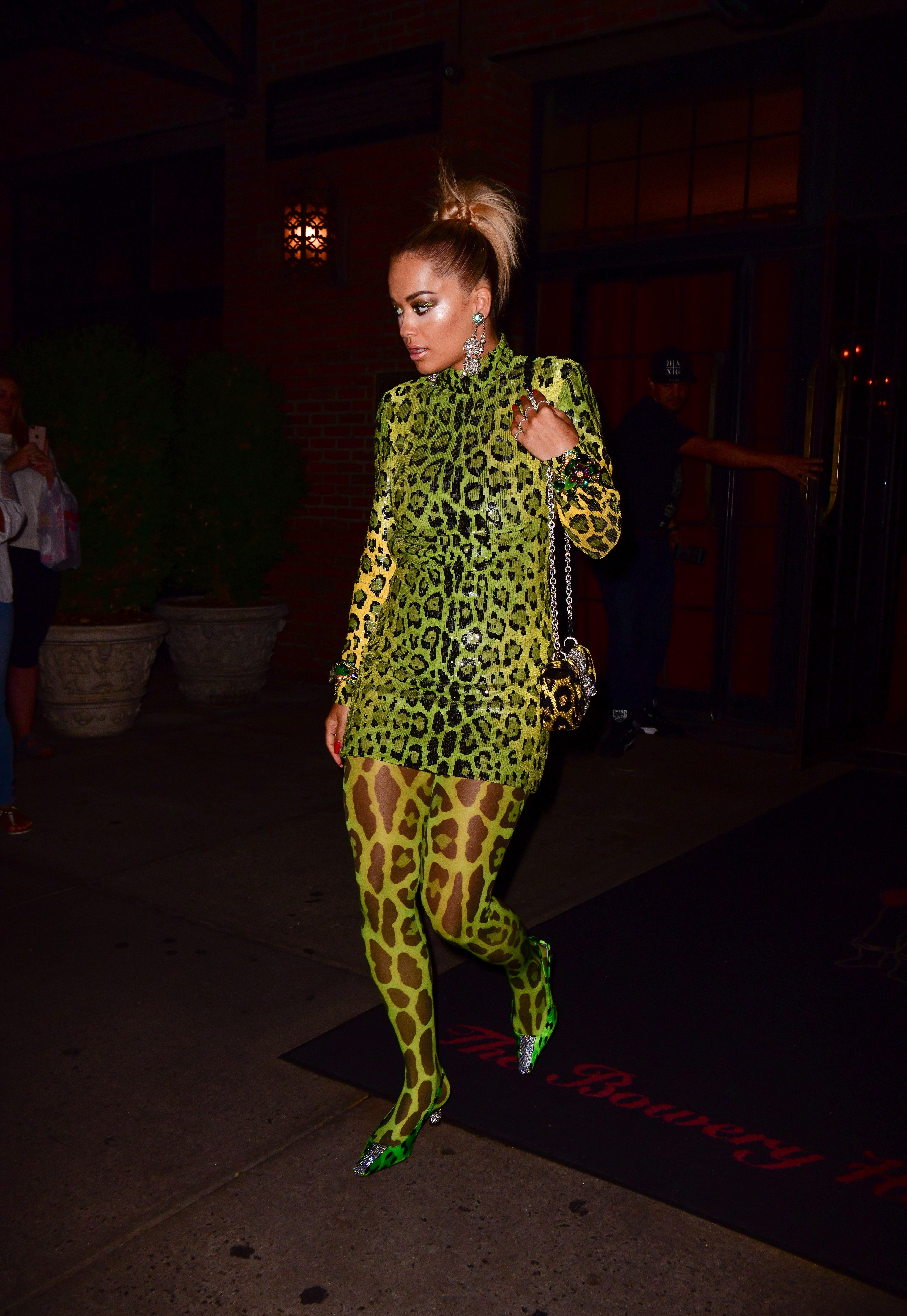 rita ora, leopardo