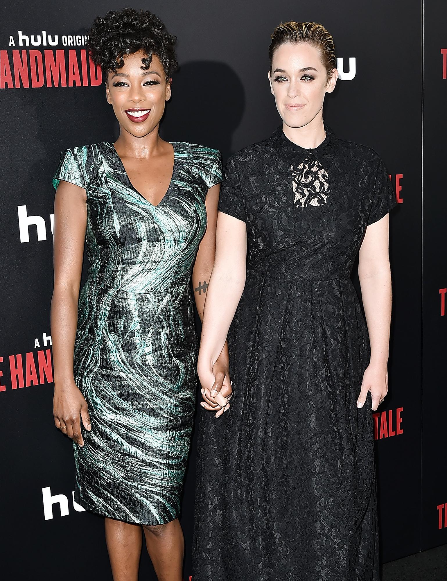 Samira Wiley y Lauren Morelli