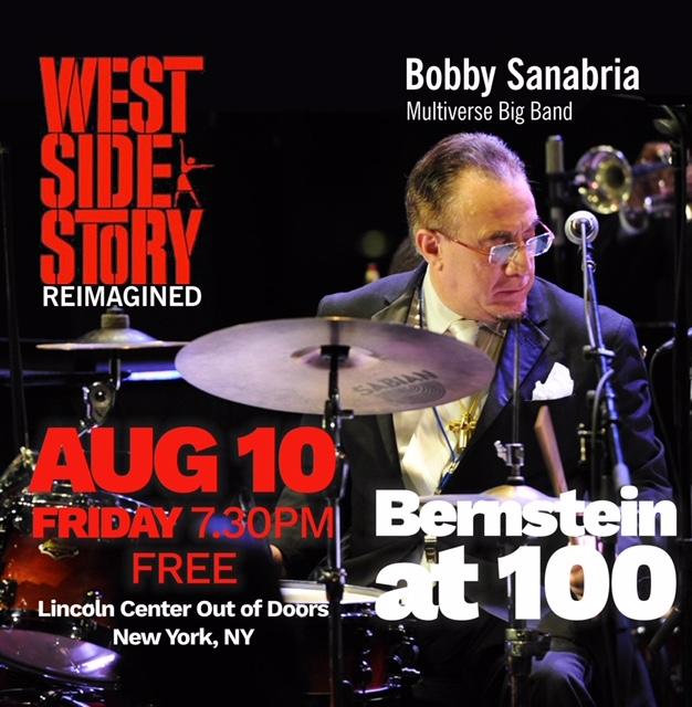 Bobby Sanabria en Lincoln Center