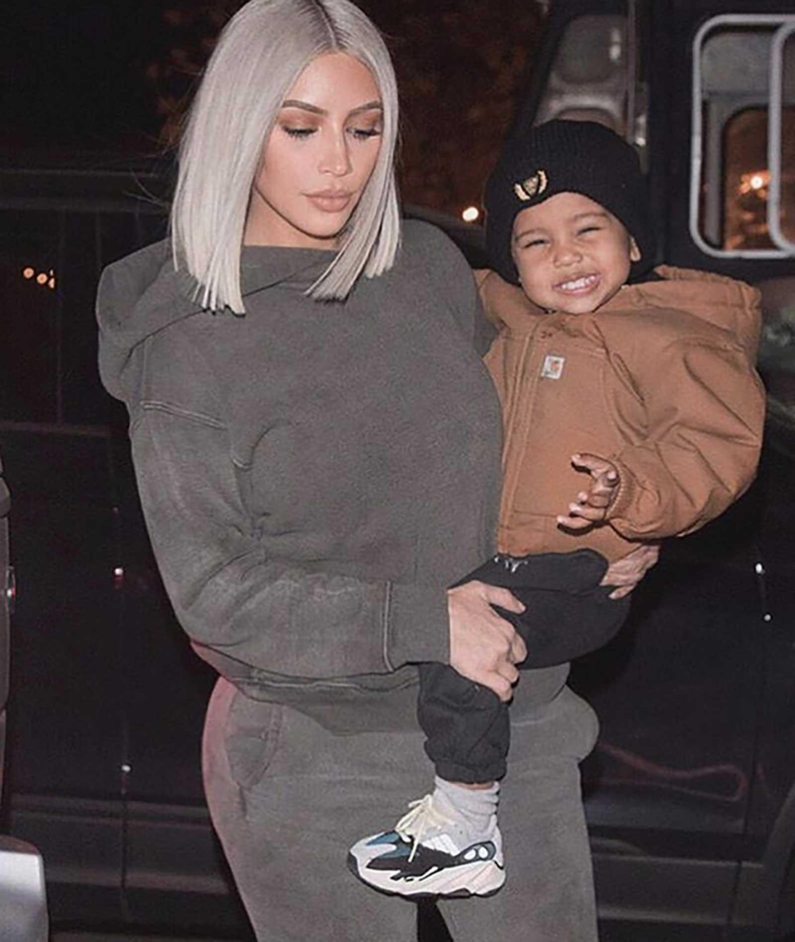 Kim Kardashian, Saint West