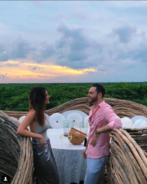 Vacaciones Michelle Galván y esposo Fernando Guajardo en México 2018