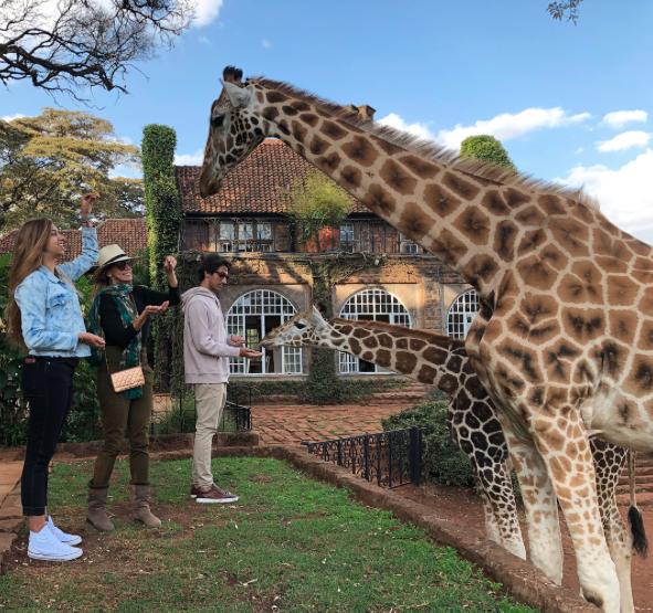 Lili Estefan vacaciones Africa 2018