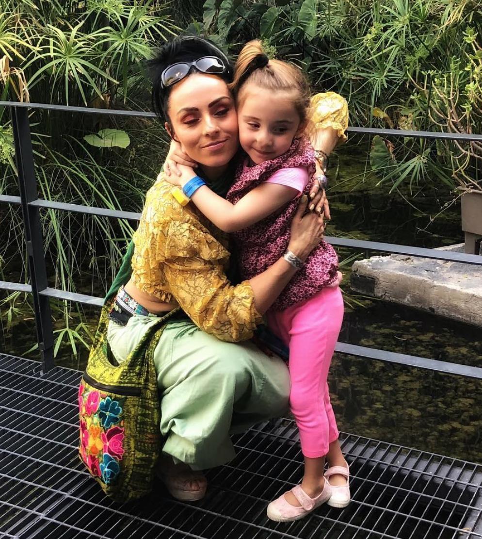 Ivonne Montero y su hija Antonella