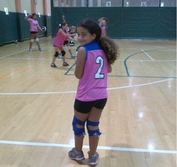 Bárbara Camila hija de Carolina Sandoval