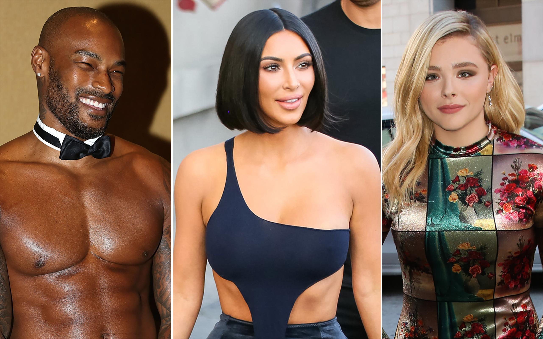 Tyson Beckford Kim Kardashian West Chloe Grace Mortez