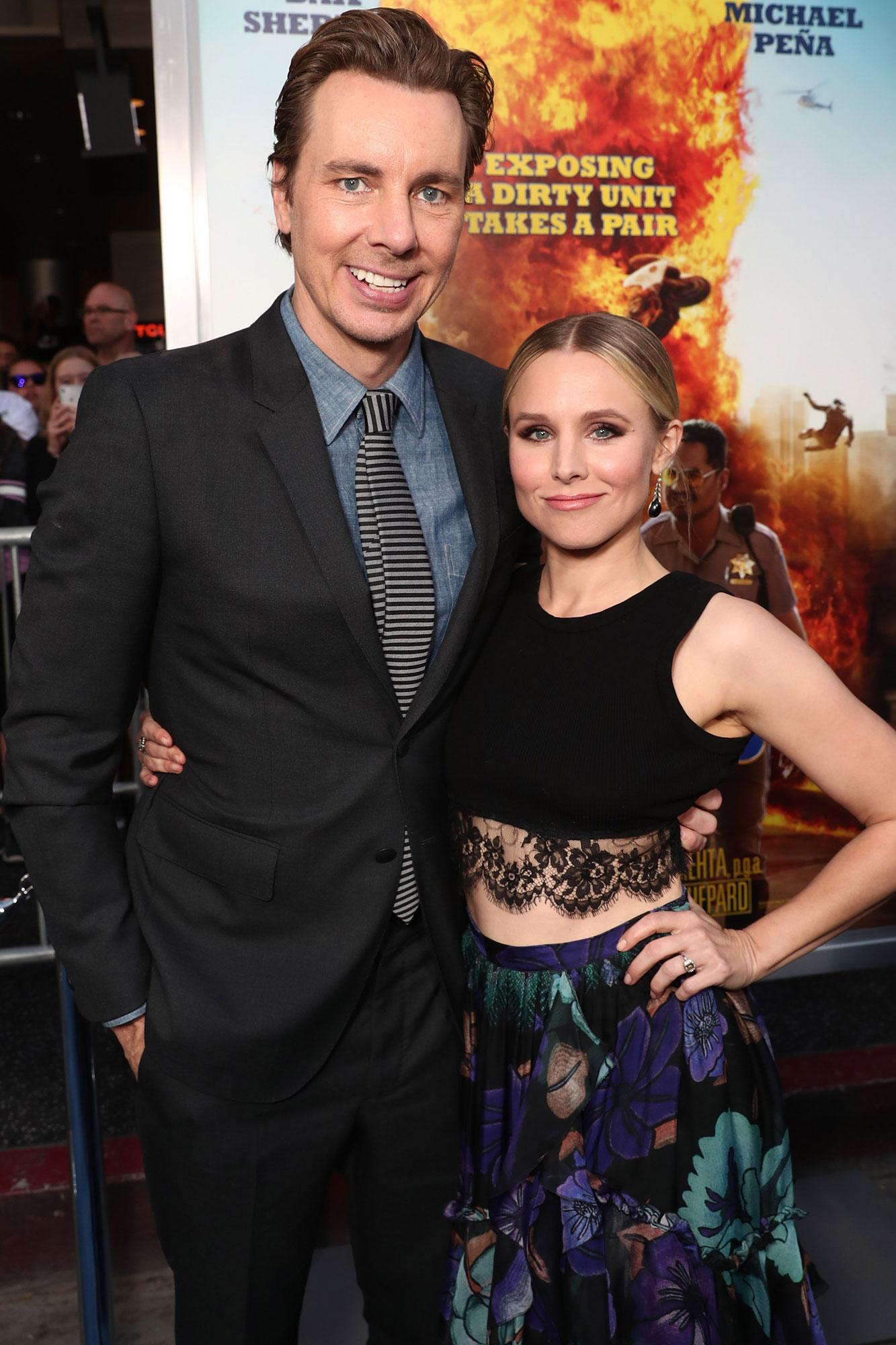 Dax Shepard y Kristen Bell