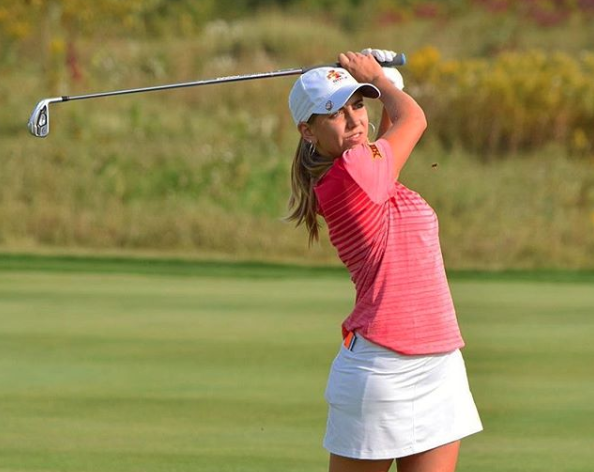 Celia Barquin golfista