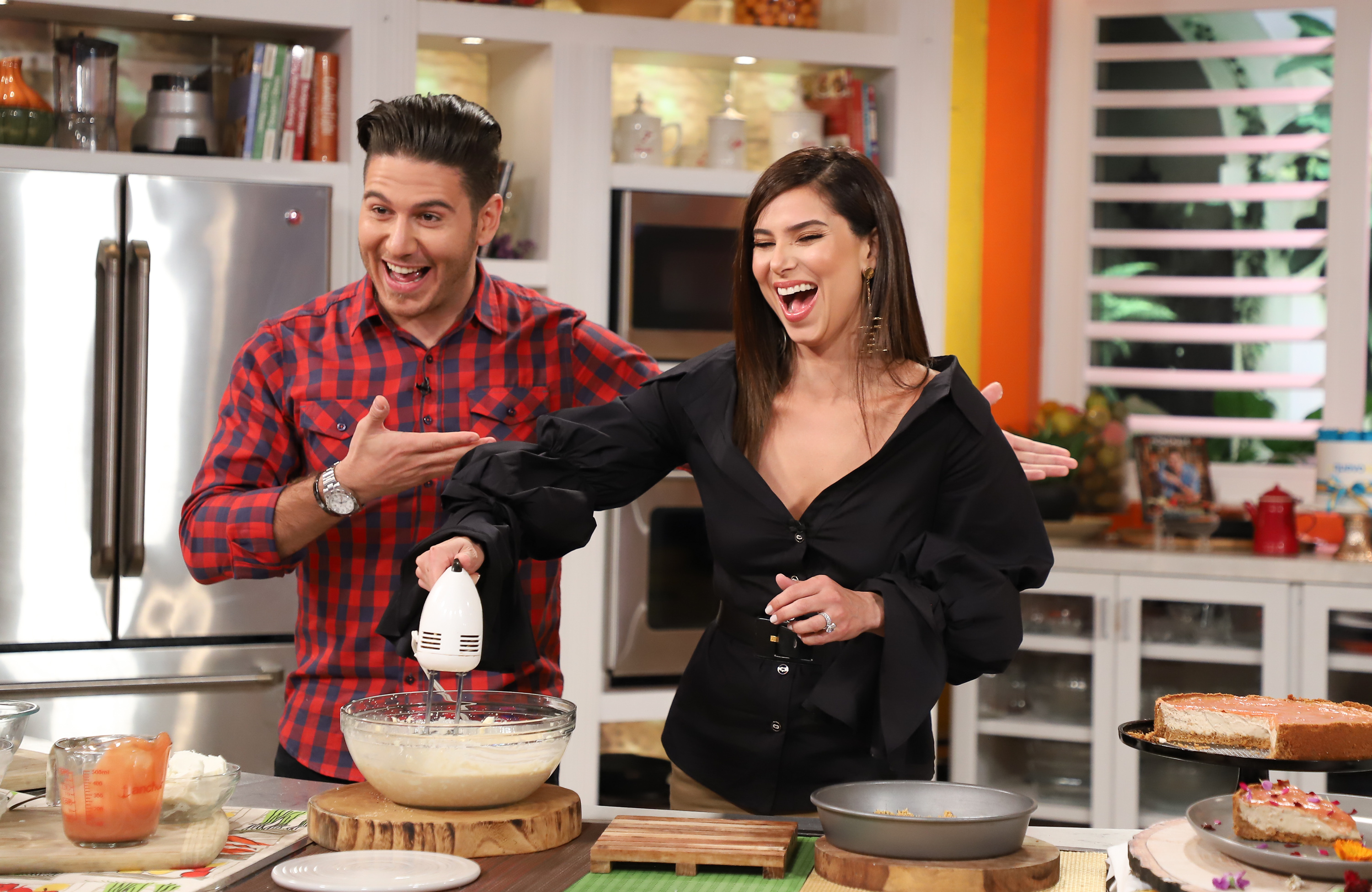Chef James y Roselyn Sanchez