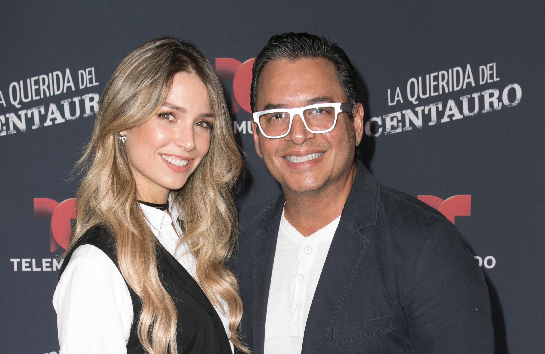 Daniel Sarcos y Alessandra Villegas