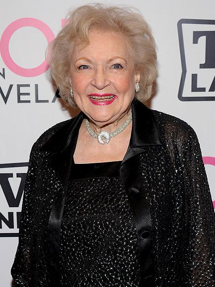 Betty White, Envejecer Con y Sin gracia