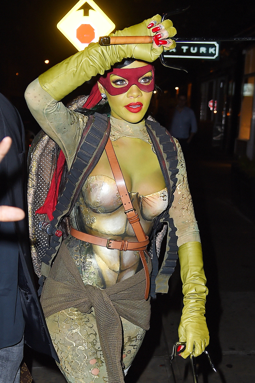 Rihanna, Halloween