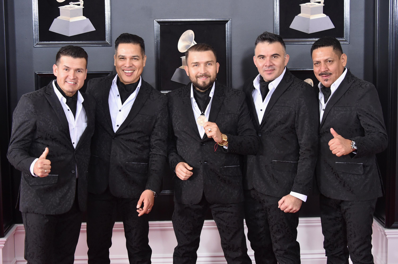 Banda el Recodo en los premios Grammy 2018