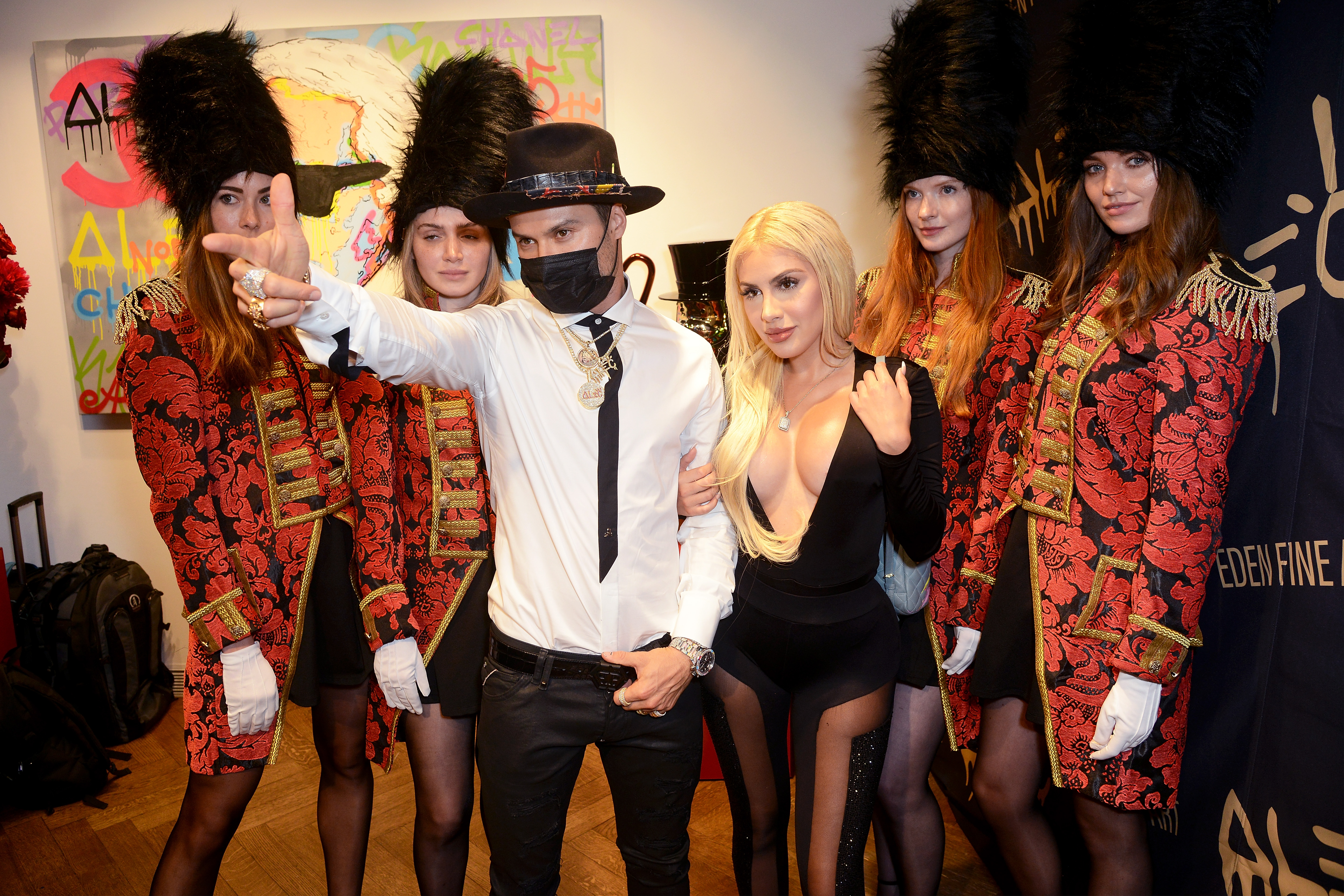 'Breaking The Bank On Bond Street' Launch Party