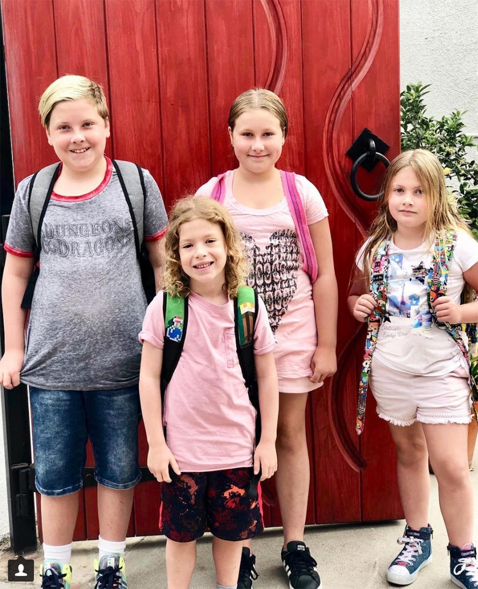 Los hijos de Dean y Tori Spelling