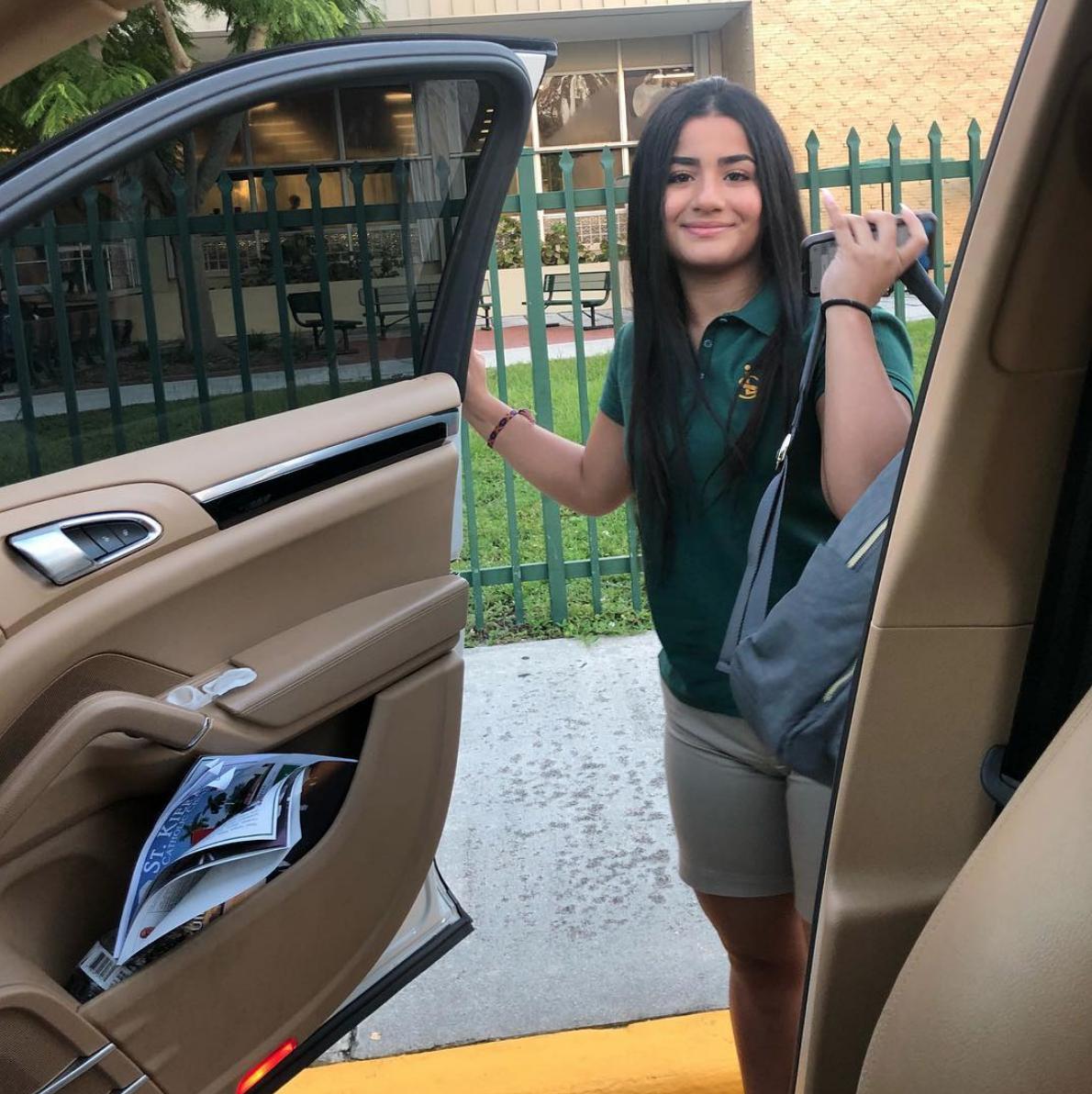 Camila la hija de CArolina Sandoval