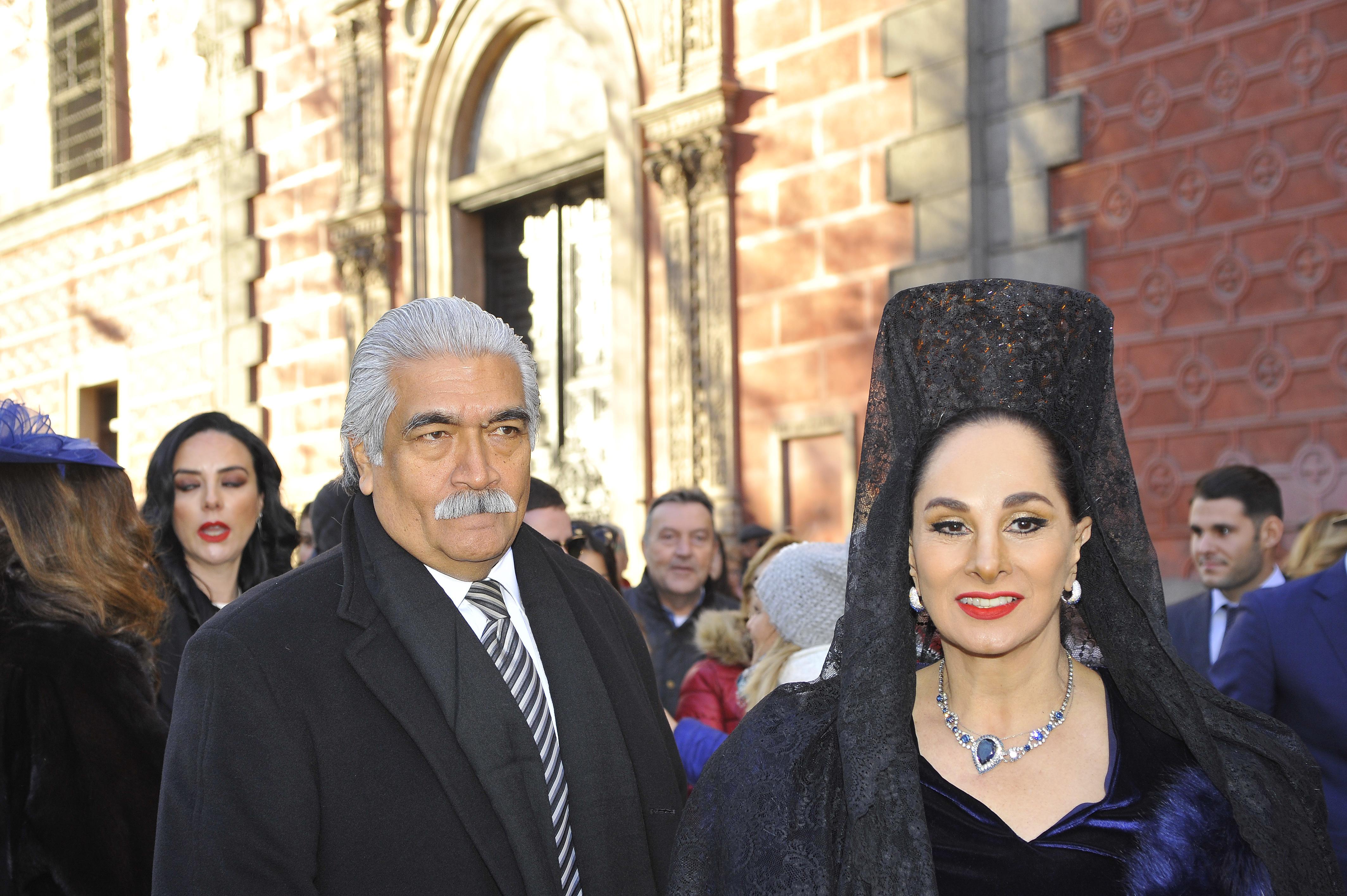 Carlos Vasallo y Susana Dosamantes