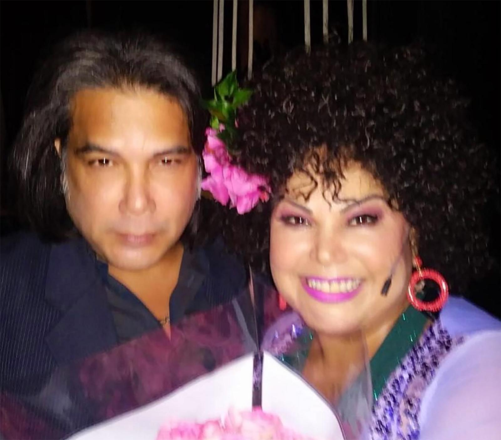 """Liliana Rodríguez, Juan José Rodríguez """"El Puma Jr."""""""