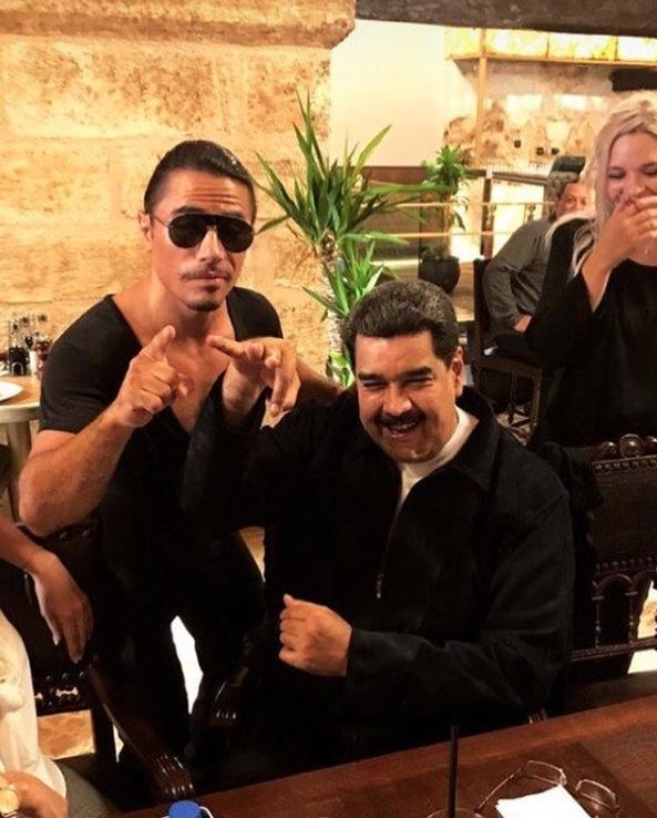 Maduro y Salt Bae9
