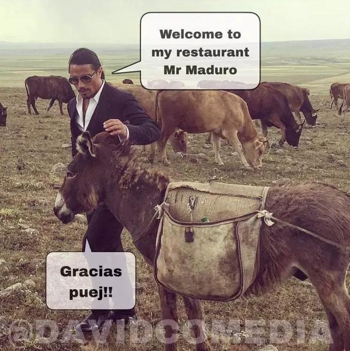 Salt Bae y Nicolás Maduro