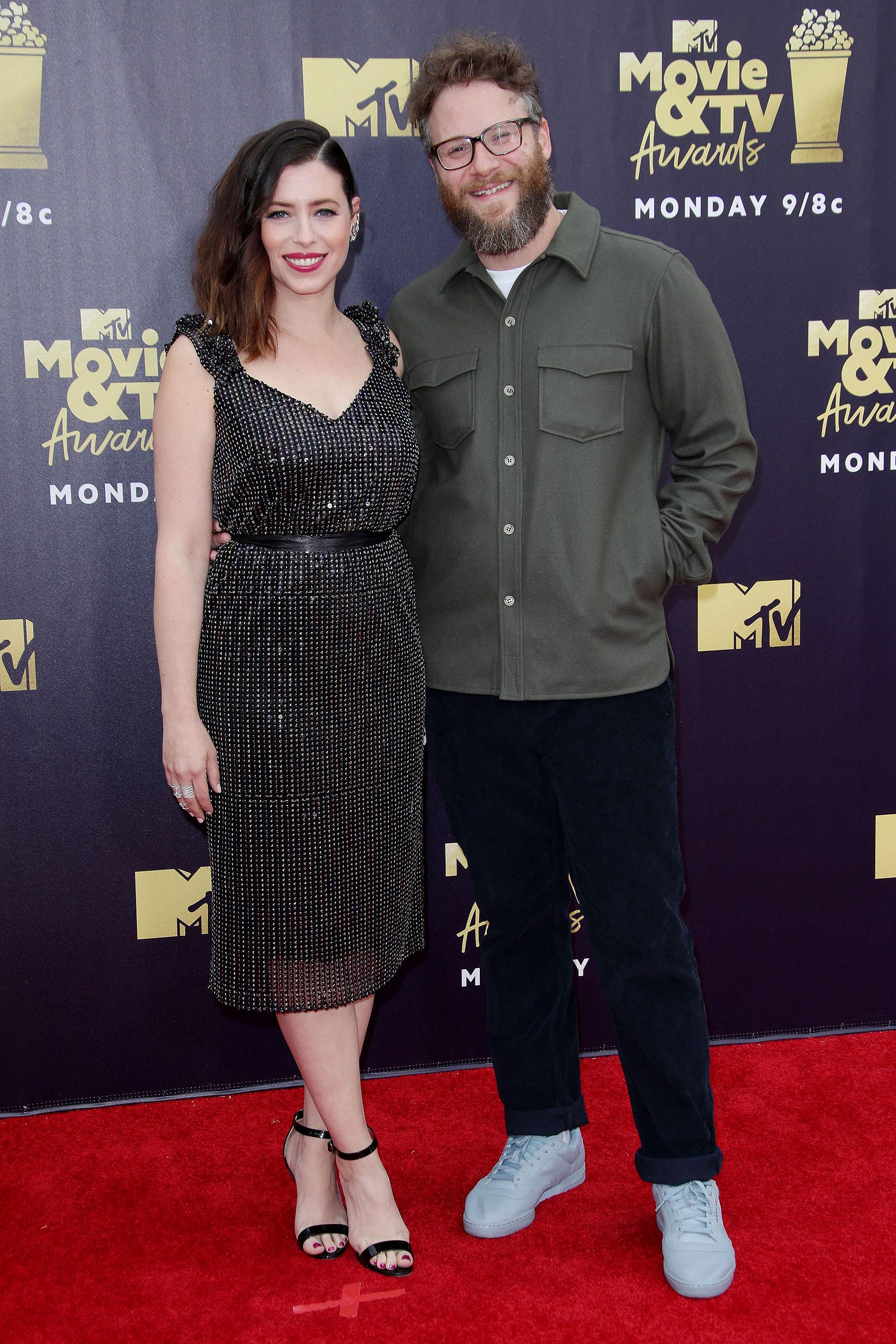 Seth Rogen y Lauren Miller Rogen