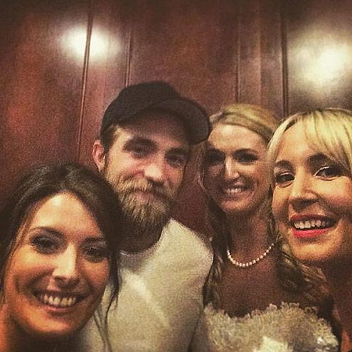 Robert Pattinson, boda