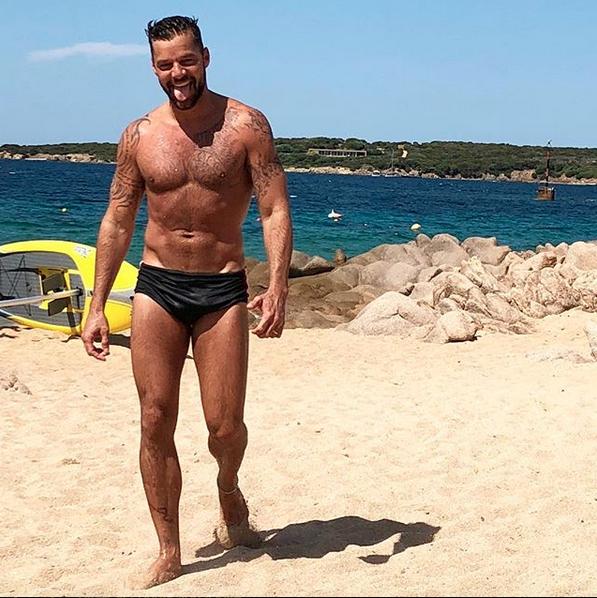 Ricky Martin Instagram sexy verano 2018