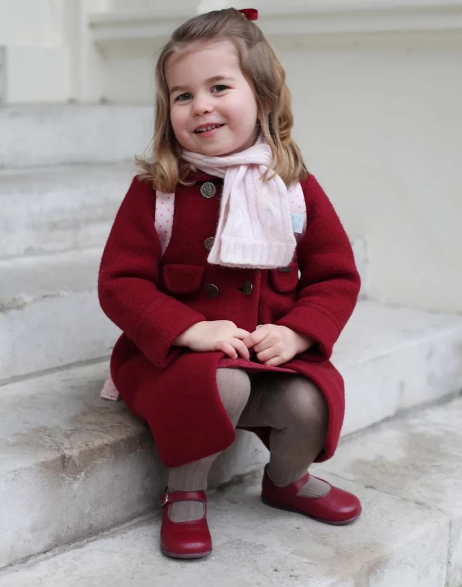 Princess Charlotte in January 2018