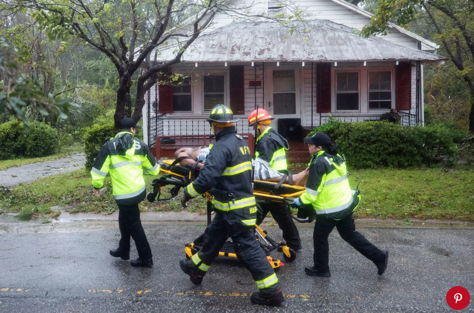 Hurricane Florence hits Wilmington, North Carolina