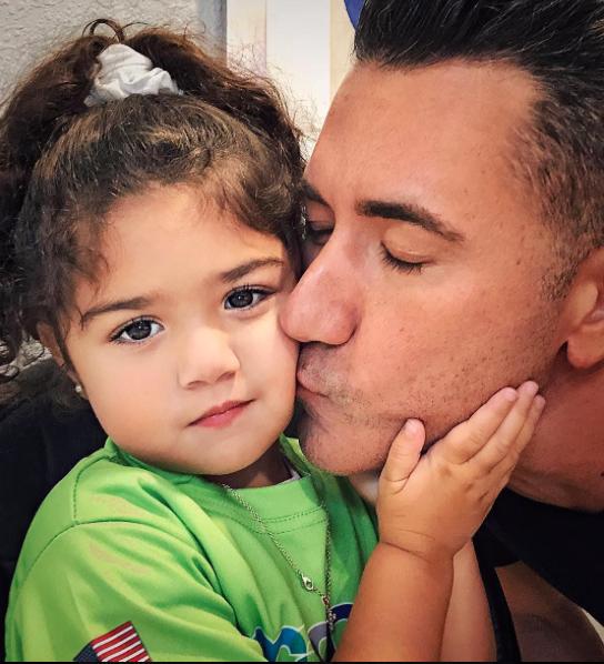 Jorge y su hija Kylie Bernal