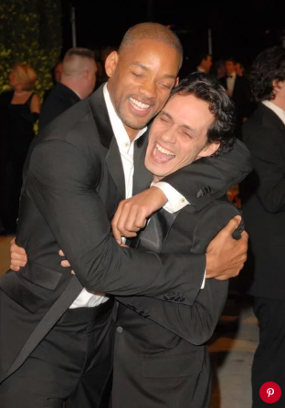 Will Smith and Marc Anthony