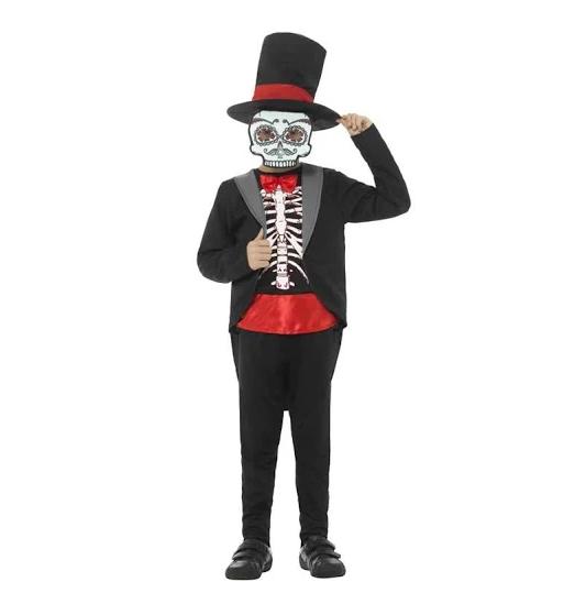 Dia de los muertos, disfraz, niños