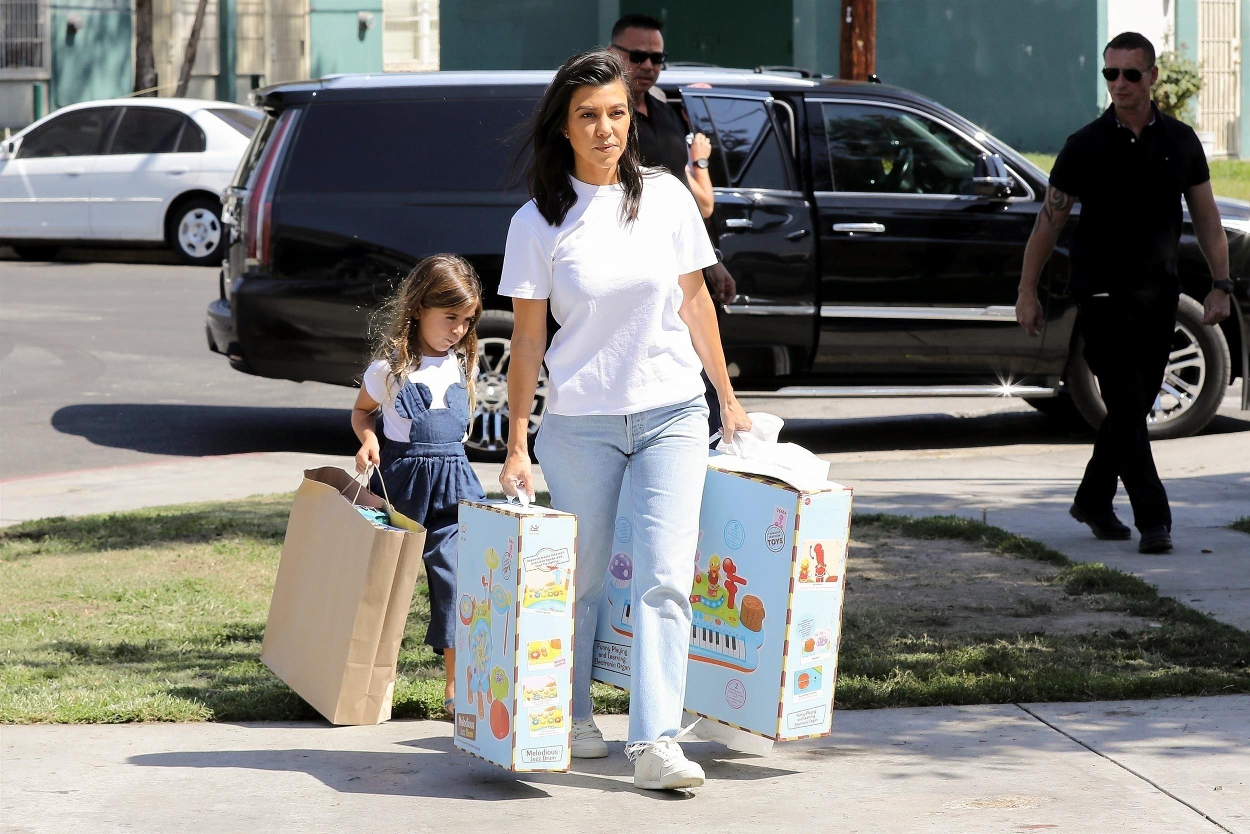 Mason, Kourtney Kardashian, Penelope