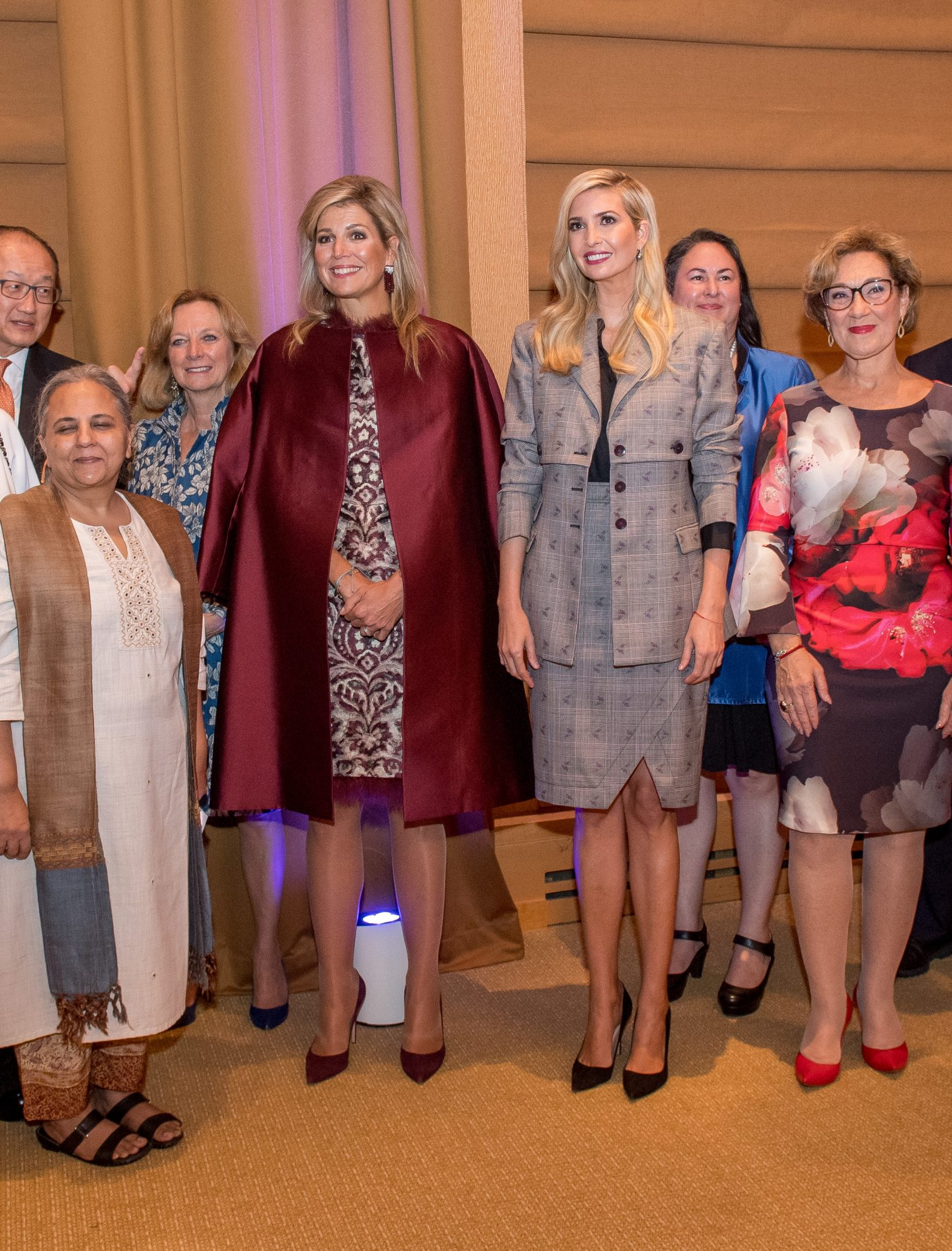 Ivanka Trump, Maxima Zorreguieta