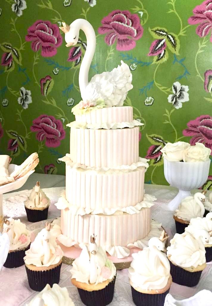 Pastel de cumpleaños de Oleta