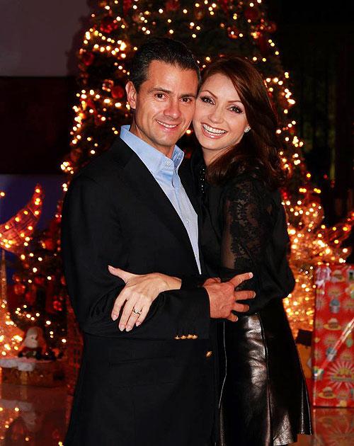 Angélica Rivera, Enrique Peña Nieto, Navidad