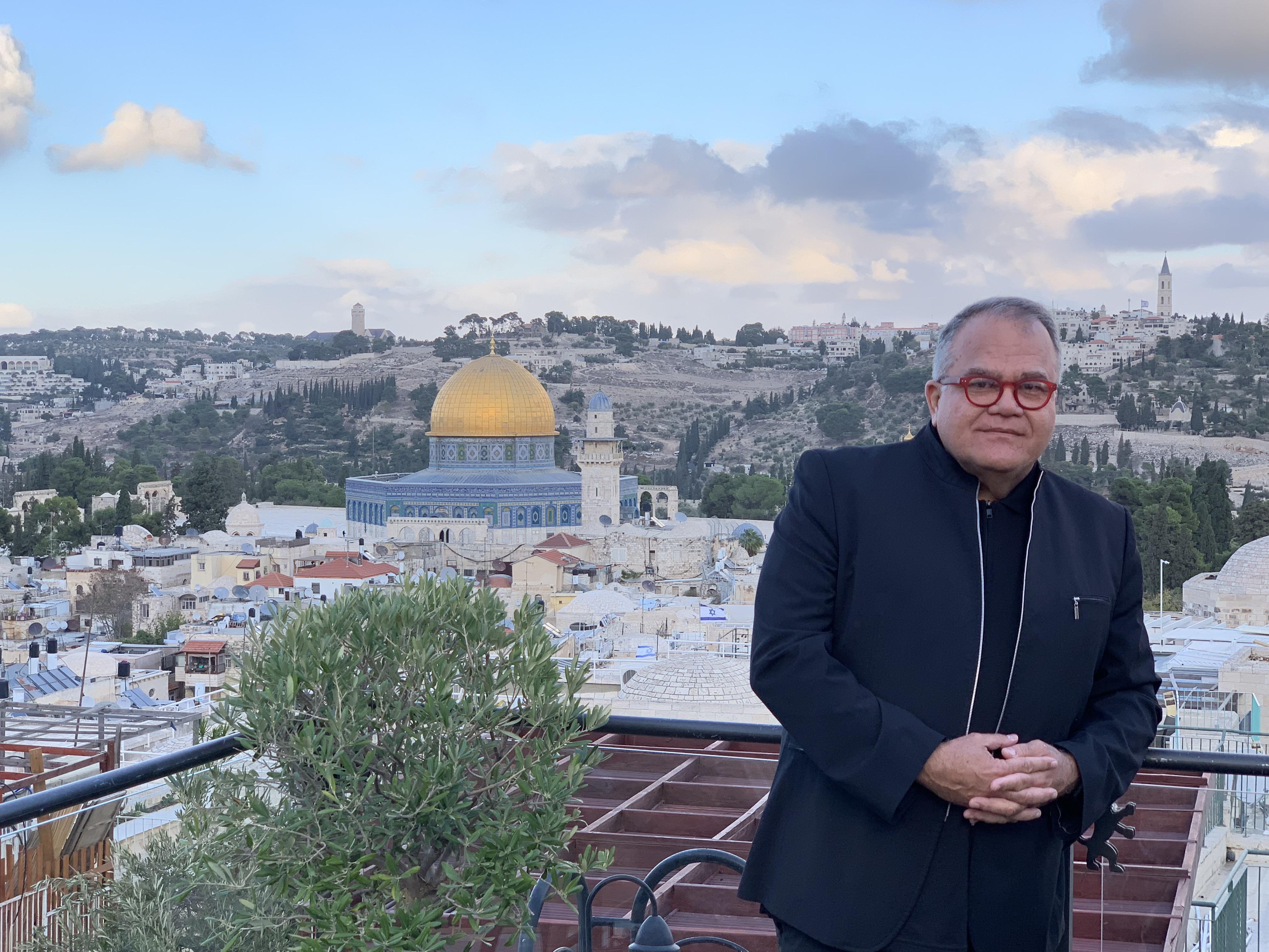 People En Español's Editor-in-Chief Armando Correa In Jerusalem/Ciro Gutierrez