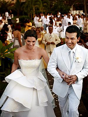Bárbara Bermudo y Mario Andrés Moreno
