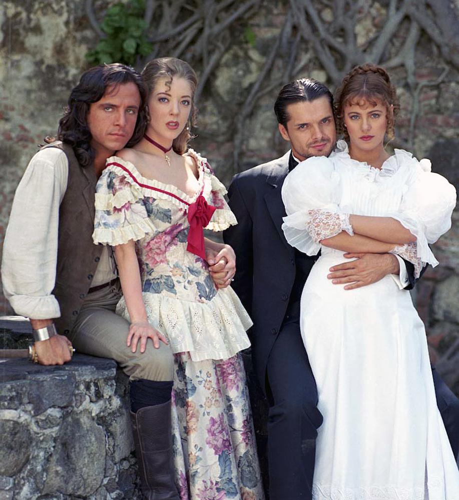 Eduardo González, Edith González, Ariel López Padilla y Ana Colchero.