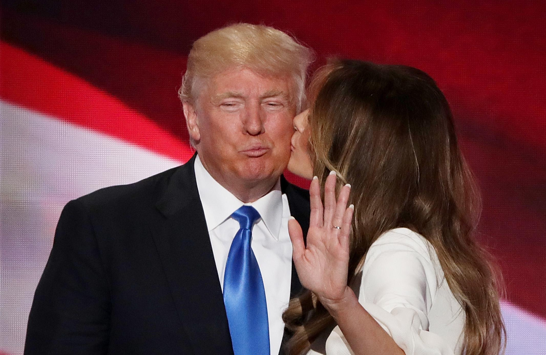 Donald Trump Melania Trump