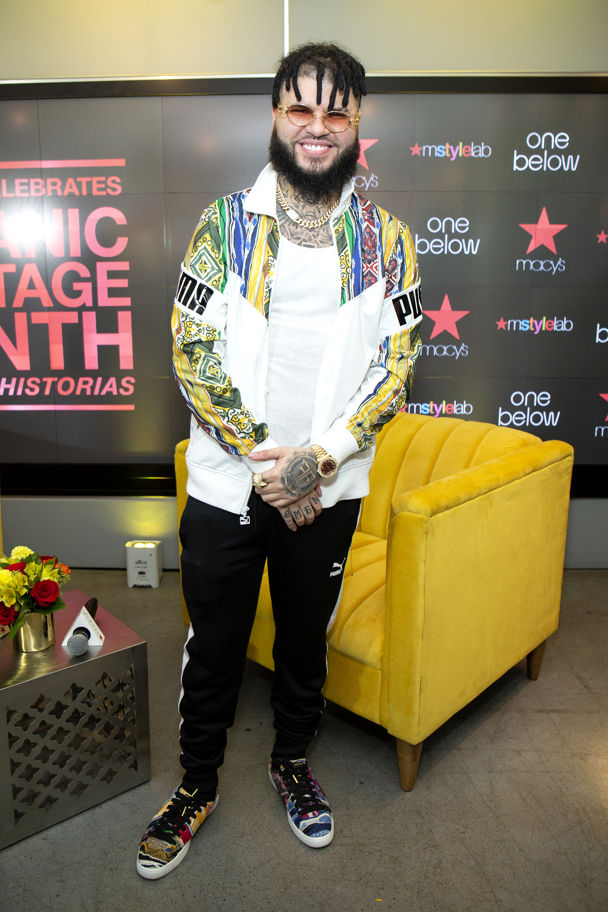 Farruko Performs At Macy's Herald Square For Hispanic Heritage Month