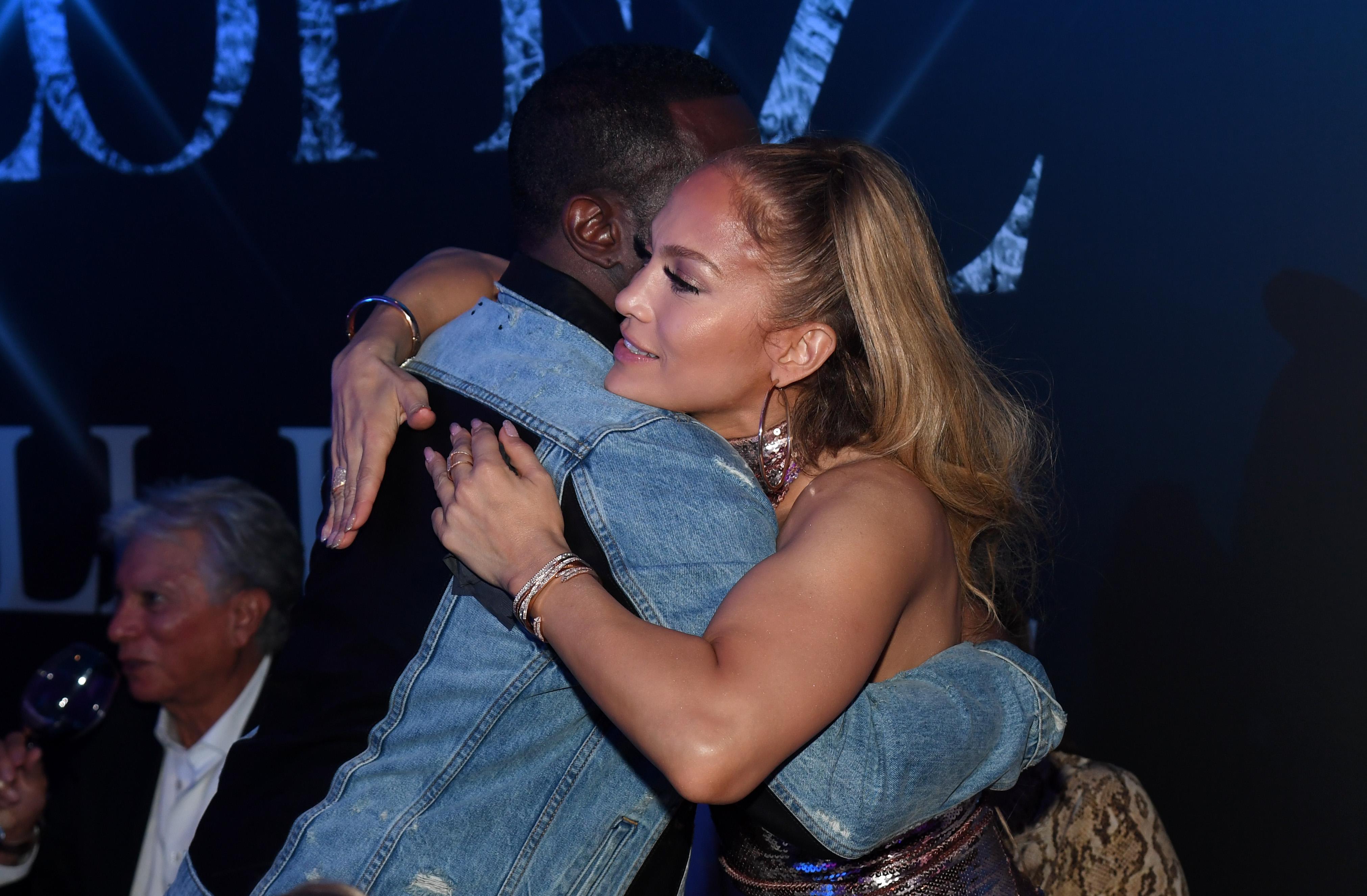 "Sean ""Diddy"" Combs Jennifer Lopez"